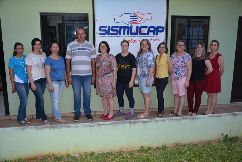 Servidores de Capitão Leônidas Marques elegem nova diretoria do Sismucap