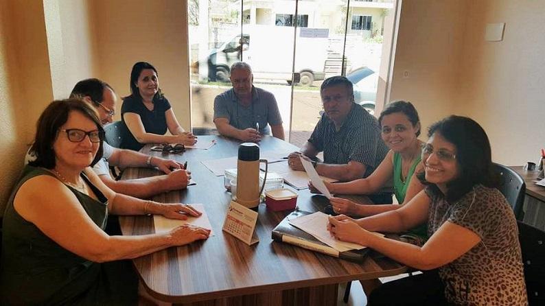 Fesmepar faz reunião administrativa no Sindserv Nova Aurora