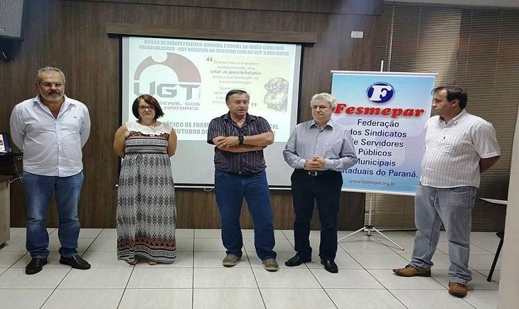 Fesmepar e UGT realizam curso de formação sindical em Apucarana