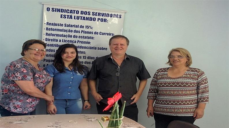 Assessor jurídico da Fesmepar delibera pautas do MTE com sindicato de Laranjeiras do Sul