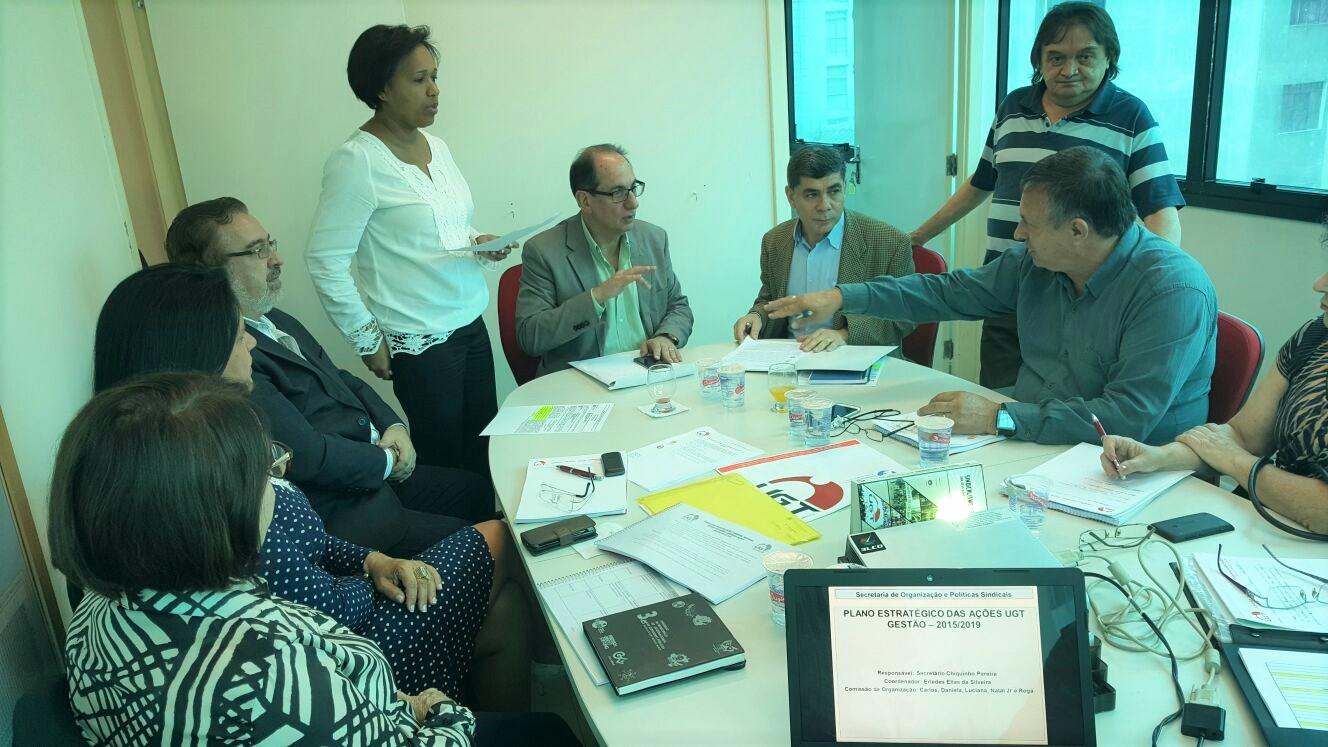 Fesmepar e UGT discutem pautas da Secretaria Nacional dos Servidores Públicos