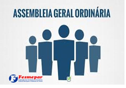 CONVOCAÇÃO – ASSEMBLEIA GERAL ORDINÁRIA