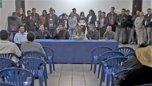 GUAÍRA- Nova diretoria do Sismug é empossada