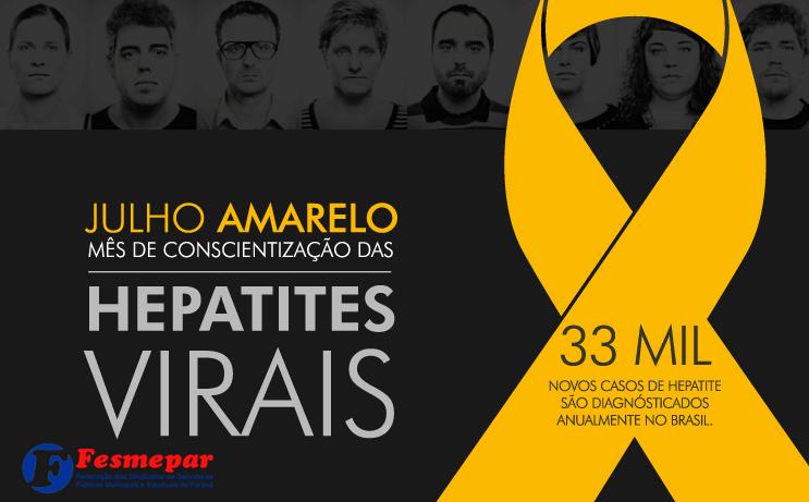 JULHO AMARELO –  Previna-se contra as hepatites virais