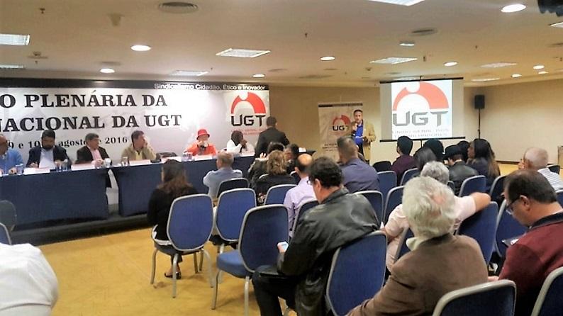 """Fesmepar participa da """"24 Reunião Plenária da Executiva Nacional da UGT"""""""