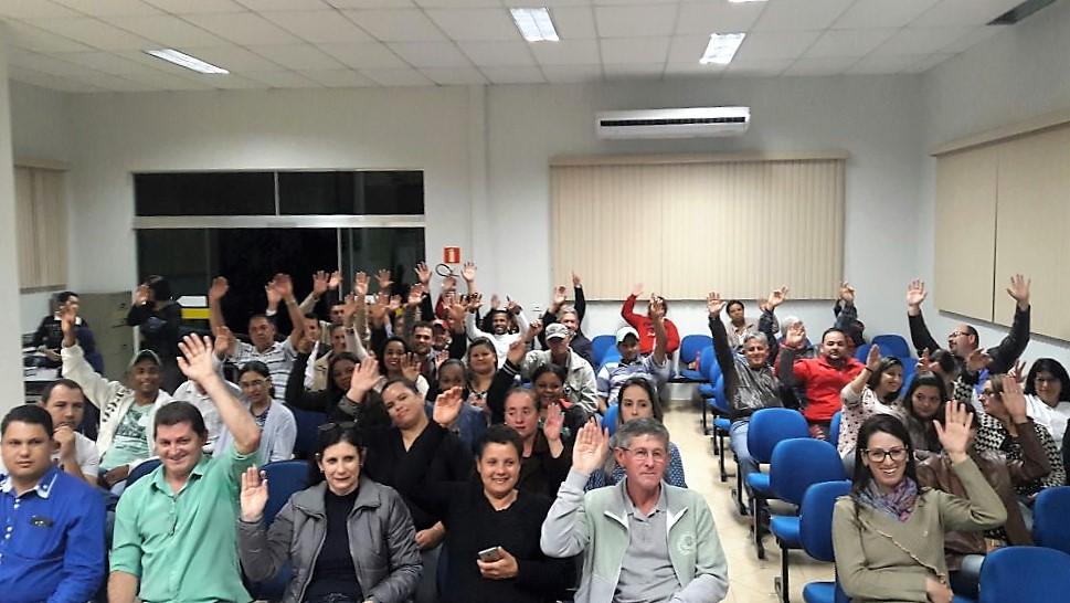 Servidores Municipais de Ivaté fundam sindicato