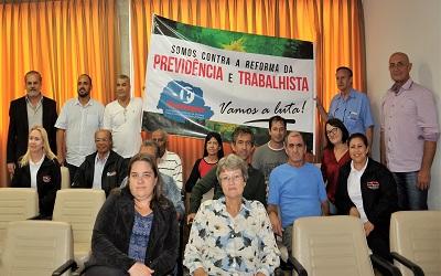 Fesmepar marca presença no Ciclo de Debates da UGT-Paraná