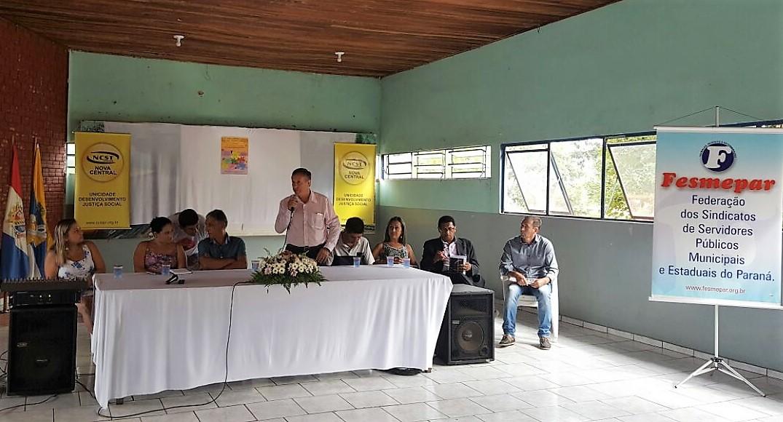 PEC287: Sindicato de Servidores de Telêmaco Borba discute Reforma da Previdência com lideranças sindicais