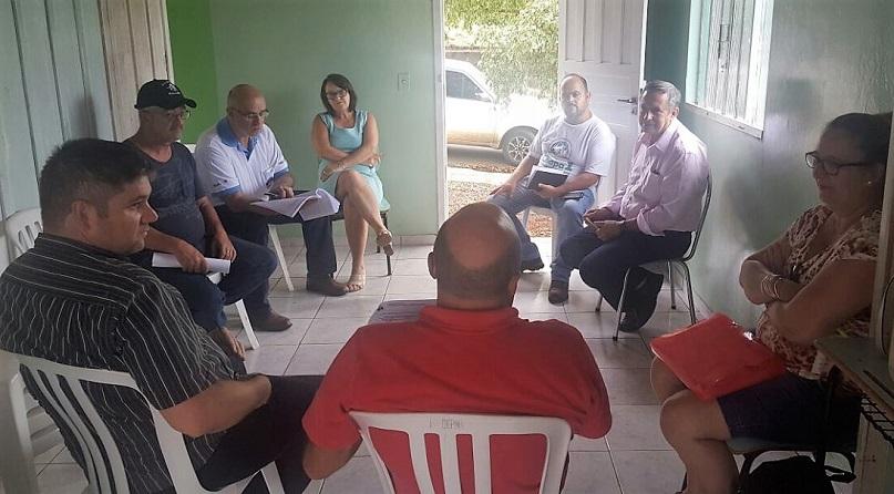 Fesmepar participa de reunião administrativa no Sind Reserva