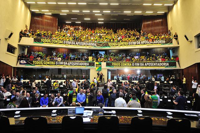 PEC 287: Fesmepar marca presença em Audiência Pública contra a Reforma da Previdência