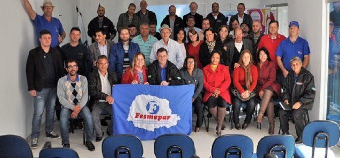 Em Assembleia Geral Ordinária, sindicatos filiados aprovam por unanimidade a Prestação de Contas da Fesmepar