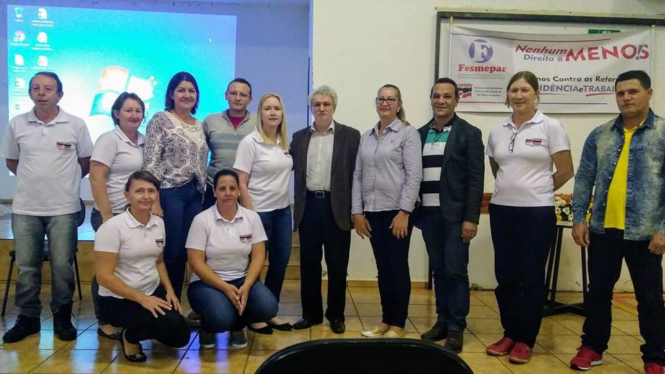 """SÃO MIGUEL DO IGUAÇU- Com palestras e debates, SINSMI finaliza a    """"4ª Semana de Formação Continuada"""""""