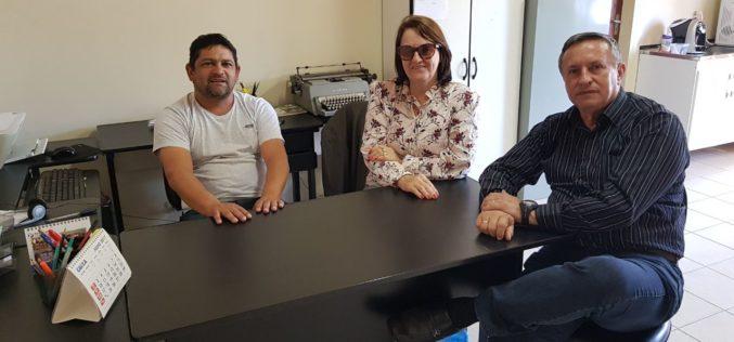 Presidente da Fesmepar faz reunião administrativa com presidentes dos sindicatos de servidores municipais de Prudentópolis e Laranjeiras do Sul