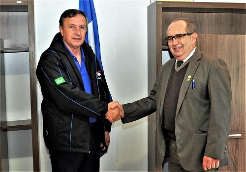 Presidente da Fesmepar recebe visita do Deputado Delegado Rubens Recalcatti