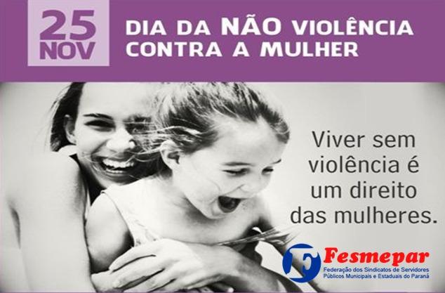 25 de novembro- Dia Internacional da não violência contra a mulher