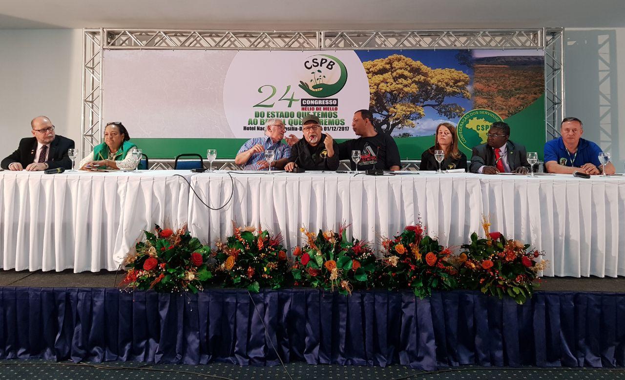 Fesmepar marca presença no 24º Congresso da CSPB