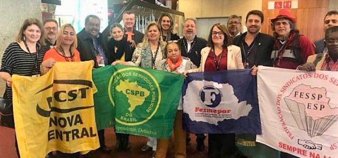 Fesmepar marca presença no 30º Congresso Mundial da Internacional dos Serviços Públicos – ISP