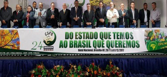 """CSPB: Chapa Única """"Do Estado que temos ao Brasil que queremos"""" é eleita para a administração da Confederação"""