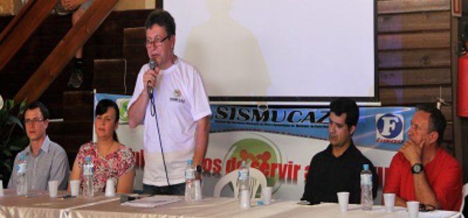 Cerro Azul: Fesmepar participa de cerimônia de posse do Sismucaz