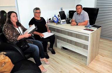Fesmepar recebe visita administrativa da diretoria do SINMAG – Mandirituba