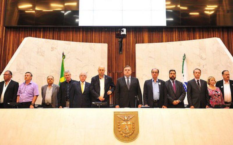 Fesmepar participa de solenidade que homenageou os 10 anos da UGT – Paraná