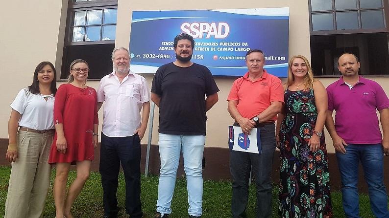 CAMPO LARGO: Fesmepar faz reunião administrativa com o Sindicato de Servidores Municipais