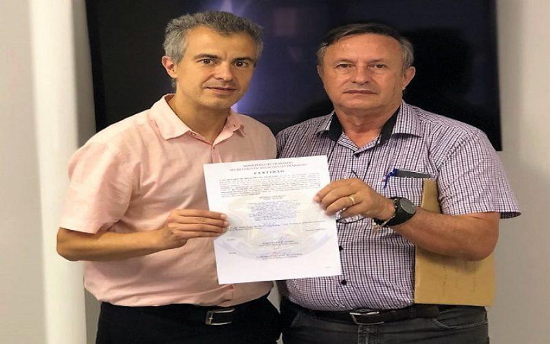 Francisco Alves: Fesmepar recebe Certidão de Registro Sindical do Sindisfa