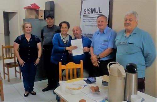Lapa – Sismul recebe Certidão de Registro Sindical