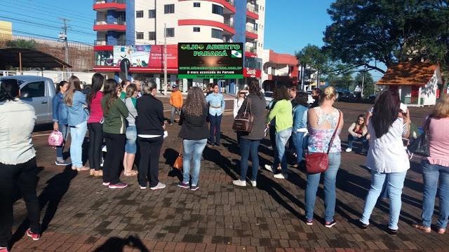 Quedas do Iguaçu – Professores municipais entram em greve