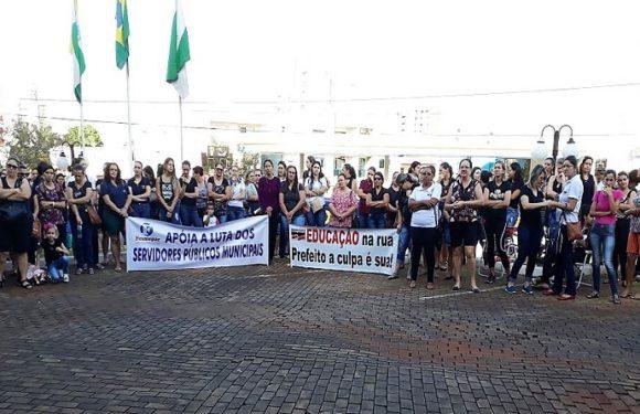 Sem negociação com a prefeitura, professores municipais de São Miguel do Iguaçu entram em greve nesta quarta-feira