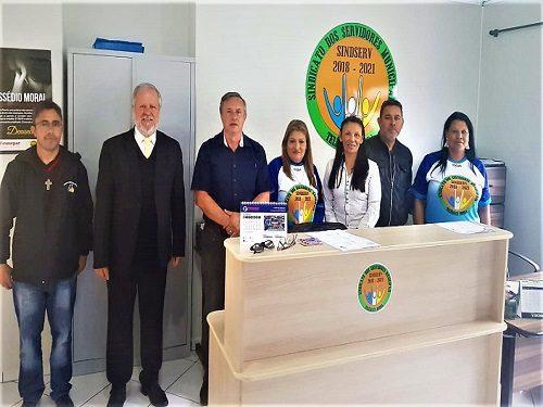 TELÊMACO BORBA: Fesmepar faz visita administrativa ao Sindserv- TB