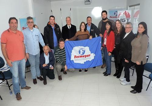 Fesmepar discute o atual cenário político-sindical no Encontro de Sindicatos da Região Metropolitana
