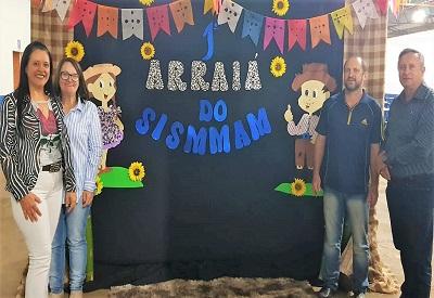 MAMBORÊ: Mais de 100 servidores municipais participam da primeira Festa Julina do Sismmam