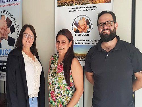 CÉU AZUL:  Fesmepar faz visita administrativa ao SISMUCEU