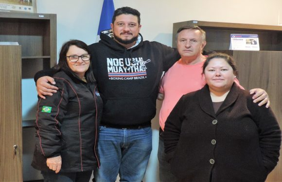 Campo Largo: Presidente da Fesmepar recebe visita administrativa da diretoria do SSPAD