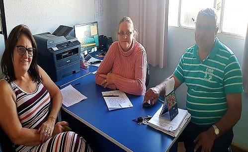 Fesmepar faz reunião administrativa com diretores do SINDPRATA E SINDISALU