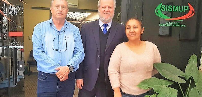 Paranaguá: Fesmepar faz visita administrativa ao Sismup