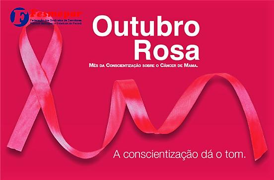 OUTUBRO ROSA- PREVENIR É UM ATO DE AMOR!