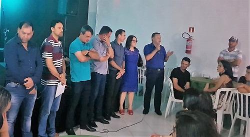 Araruna: Fesmepar participa de cerimônia de posse da diretoria do SISPMA