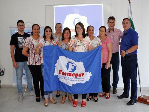 CERRO AZUL: Fesmepar recebe visita da nova diretoria do Sismucaz