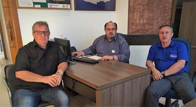 Fesmepar recebe visita de diretores do SINTEX'S