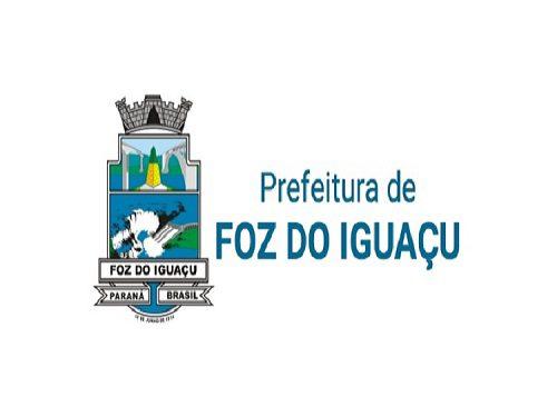 Prefeitura de Foz do Iguaçu abre concurso com 109 vagas