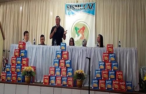 Cerro Azul: Fesmepar participa da 6ª Assembleia Geral do SISMUCAZ
