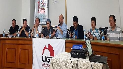 Fesmepar participa de Plenária da UGT– Paraná em Foz do Iguaçu