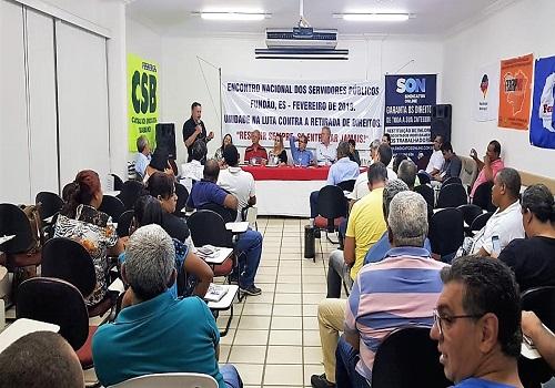 Fesmepar participa de Encontro Nacional de Sindicatos e Federações de Servidores Públicos