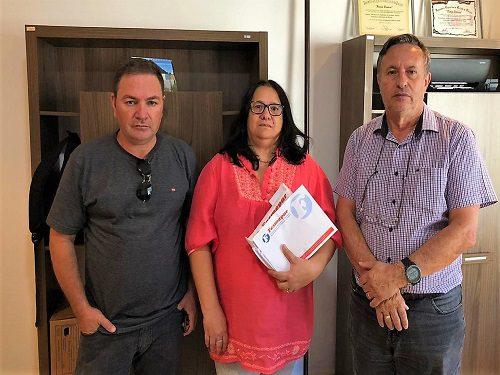 CANDÓI: Presidente da Fesmepar se reúne com diretores do SISPPMUCAN