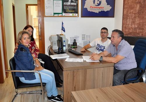 Fazenda Rio Grande: Fesmepar recebe visita administrativa da diretoria do Sismuf