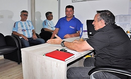 Piraquara: Presidente da Fesmepar recebe visita administrativa de diretores do Sindisemup