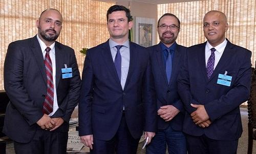Presidente Sigmuc participa de reunião com Ministro Sérgio Moro