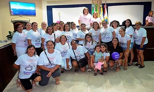 GUARATUBA: SISMUG marca presença em sessão que homenageou as mulheres na Câmara Municipal